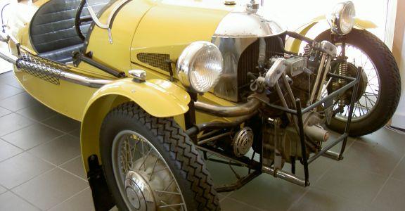 1934 Morgan 3 wheeler Supersport perspective