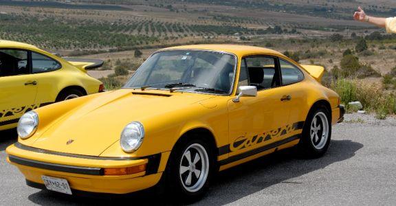 1974 Porsche Carrera 2.7 perspective