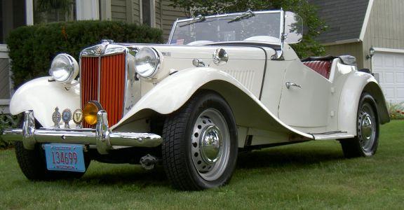 1953 MGTD Mk2 perspective