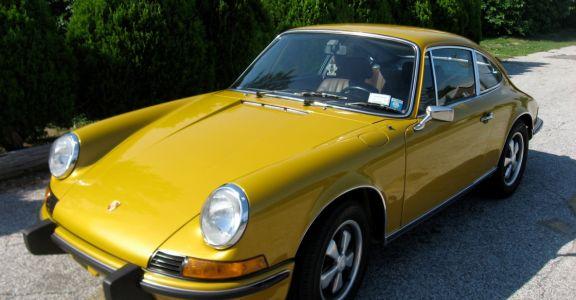 1973 Porsche 911T Coupe (CIS) perspective