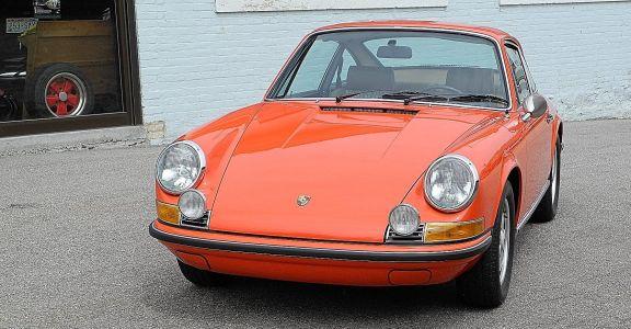 1970 Porsche 911E 2,2l Original Paint! perspective