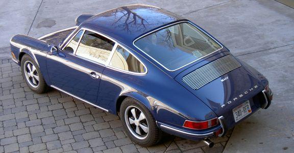 1970 Porsche 911T-Original Paint perspective