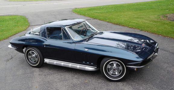 1966 Corvette Coupe Survivor! perspective