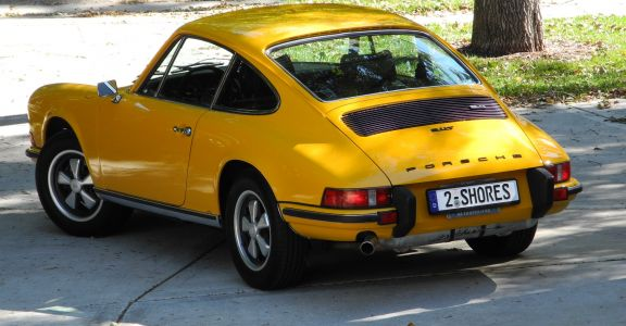 1973 Porsche 911 CIS Coupe perspective