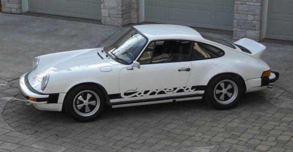 1974 Porsche Carrera 2.7 Euro spec. perspective