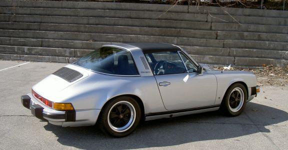 1979 Porsche 911 SC Targa perspective