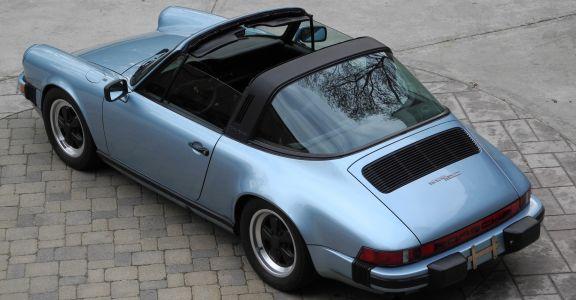 1982 Porsche 911 SC Targa perspective