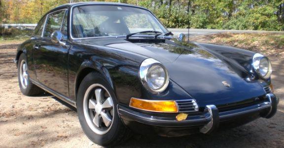 1970 Porsche 911S Coupe 2,2l perspective
