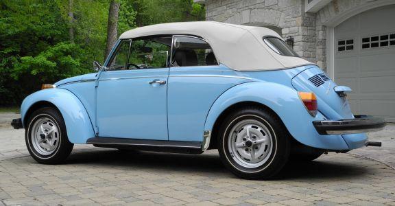 1979 Beetle Cabriolet 2000 miles, Original Paint!! perspective
