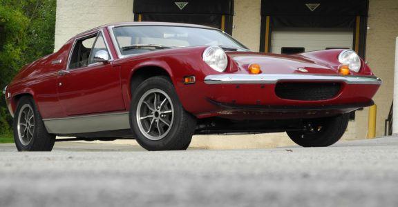 1974 Lotus Europa TC Original Survivor! perspective