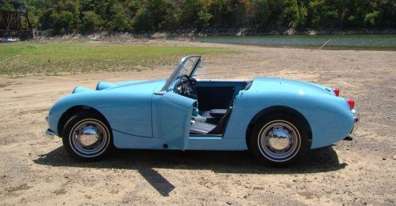 1960 Austin Healey Sprite MK1 perspective