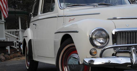 1961 Volvo PV544 Sport Survivor!! perspective