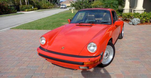 1986 Porsche Carrera 3.2! Original Paint perspective