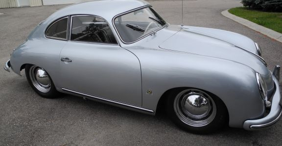 1955 Porsche 356 pre A Coupe perspective