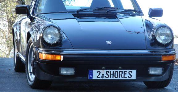 1983 Porsche 911SC Targa perspective