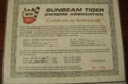 1966 Sunbeam Tiger MK1A View 41