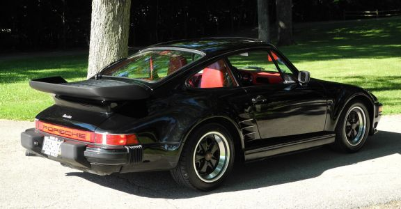 1986 Porsche 930 Turbo Slantnose perspective