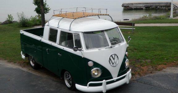 1963 Volkswagen Double Cab Pick Up perspective