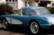 1958 Corvette Roadster View 1