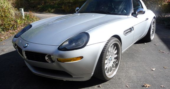 2001 BMW Z8 perspective