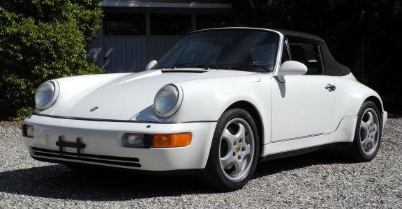 1992 Porsche 911 America Roadster perspective