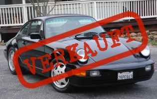 1990 Porsche 911 (964) Carrera 2 Coupe Original Paint!