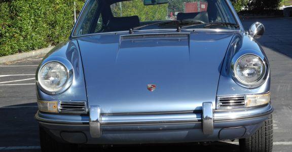 1968 Porsche 912 Coupe perspective