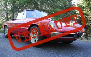 1967 Alfa Romeo Spider 1600