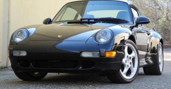 1996 Porsche 993 Turbo Coupe perspective