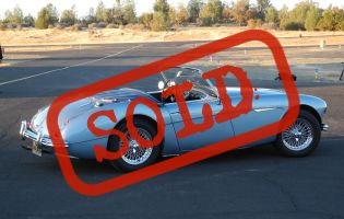 1960 Austin Healey 3000 MK1
