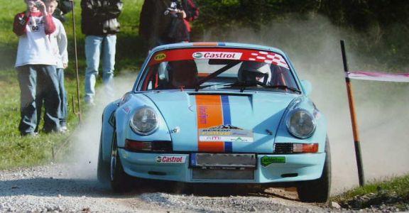 1973 Porsche Carrera RS perspective