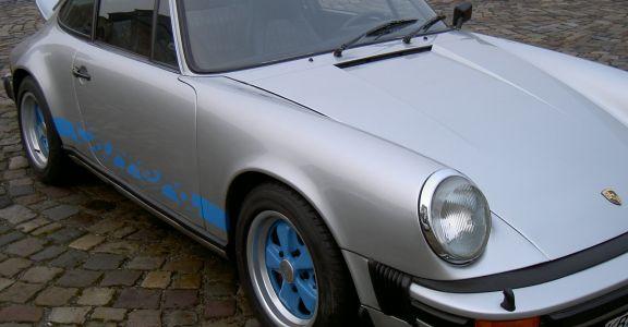 1975 Porsche Carrera 2.7 perspective