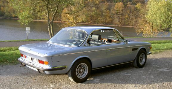 1973 BMW 3.0 CSI perspective