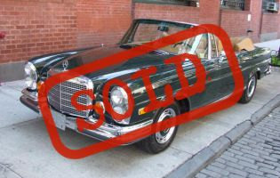 1971 Mercedes 280SE 3.5 Cab