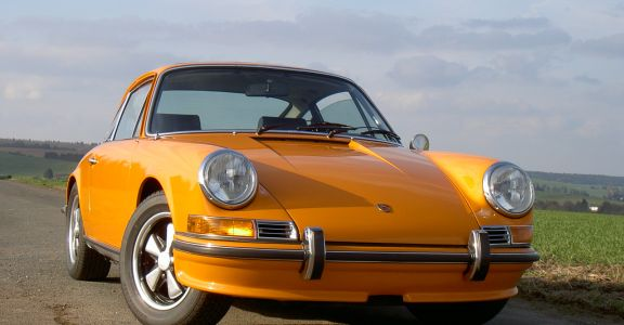 1970 911 S Coupe perspective