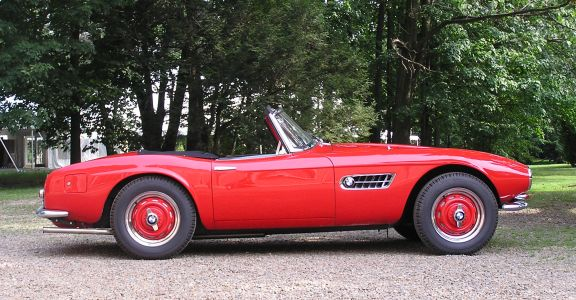 1959 BMW 507 Roadster perspective