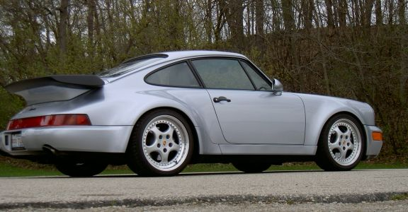 1991 Porsche 911 Turbo perspective